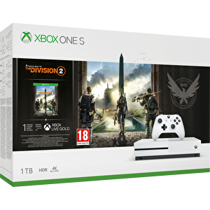 Microsoft Xbox One S 1 TB Oyun Konsolu (Tom Clancy's The Division 2 Oyun) ( OUTLET )