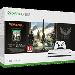 Microsoft Xbox One S 1 TB Oyun Konsolu (Tom Clancy's The Division 2 Oyun) ( TESHIR )