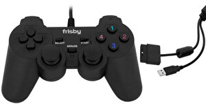 Frisby FGP-505PU Usb Pc/Ps2/Ps3 Titreşimli Direct-X Uyumlu Game Pad