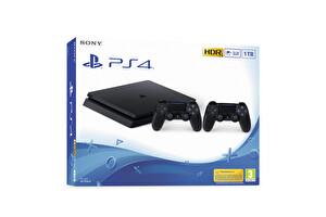 Sony PS4 1TB Oyun Konsolu + DualShock 4 Kablosuz Kol