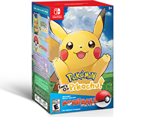 Nintendo Pokemon Let'S Go : Pikachu + Pokeball Bundle Switch Oyun
