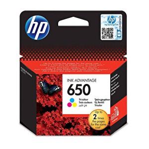 HP 650 Renkli Mürekkep Kartuş (CZ102AE)