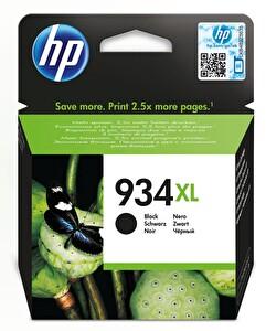 HP 934XL Siyah Yüksek Kapasiteli Mürekkep Kartuş (C2P23AE)