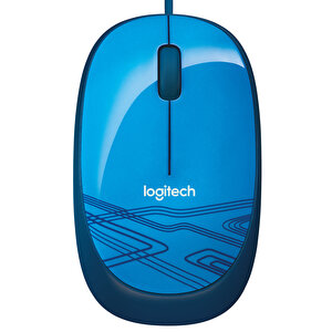 Logitech M105 Kablolu Mouse (Mavi)