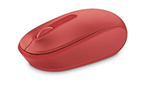 Microsoft Mobile 1850 Kablosuz Mouse (Kırmızı)