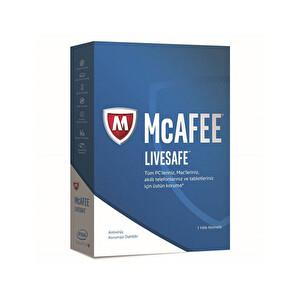 Mcafee Livesafe 2017 - Tüm Cihazlar - Tüm Platformlar - 1 Yıl