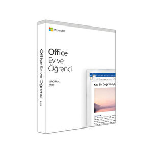 Microsoft Office Ev ve Öğrenci 2019