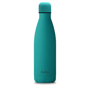 Puro Stainless Steel Icon Bottle Soft Touch SU Yeşilİ 500ML