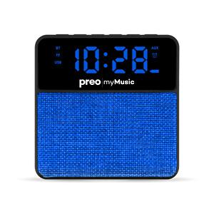 Preo My Music MM13 Kablosuz Saatli Speaker Mavi