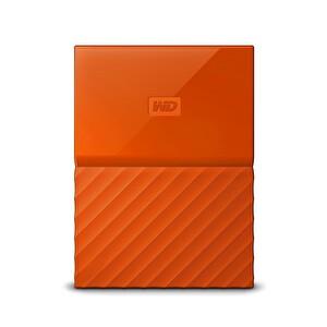 WD My Passport Worldwide 2TB 3.0 Taşınabilir Harddisk Turuncu