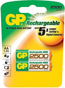Gp 250AAHC-BU2 2500 mAh 2 Li Kalem Pil