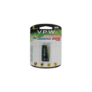 Vpw VH-AAA 800 mAh 2li Şarj Edilebilir Pil