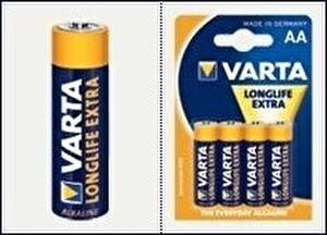 Varta Longlife Extra 4106 AA Promo 4+2 Alkalin Pil