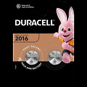 Duracell 2016 2 Li 3Volt Düğme Pil