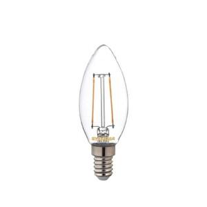 Sylvania E14 Led 2.5W  Mum Rustik Filament Lamba Sarı Işık