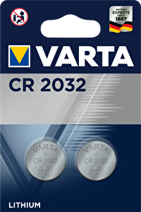 Varta Elektrikli CR 2032 3V 2'li Pil