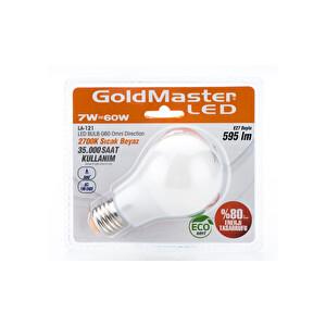 Goldmaster LA 121 Led Ampul 7W (Sıcak Beyaz)