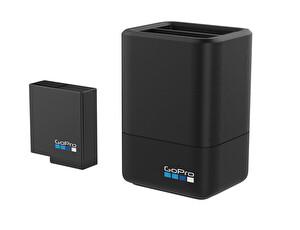 Gopro 2li Şarj Cihazı + Batarya 5GPR/AADBD-001 (Hero7/Hero6/Hero5 Black için)