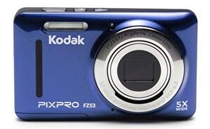 Kodak Pixpro FZ53 Mavi 16MP 5X Optik Zoom Dijital Fotoğraf Makinesi