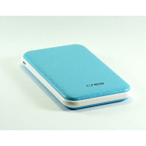 Çrea 10000 Mah Slim Mavi  Powerbank