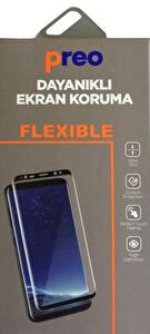 Dayanıklı Cam Ekran Koruma Samsung Note 8 Edge 3D Full Curve
