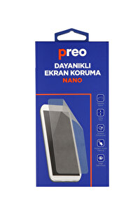 Preo Dayanıklı Ekran Korum Samsung Note 10 Lite (Ön) Nano Premium
