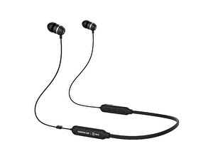 Samsung C&T Itfit A08B Esnek Boyun Bantlı Kablosuz Kulaklık Siyah