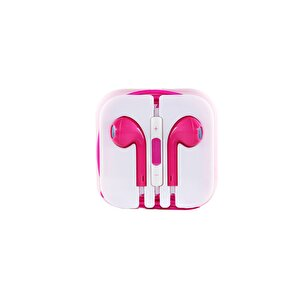 Preo My Sound MS23 Kulak İçi Kablolu 3.5mm Kulaklık Pembe