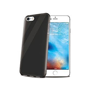 Celly GelSkin iPhone 7 Siyah Cep Telefonu Kılıfı