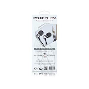 Powerway Pwr-570 Mikrofonlu Kulak İçi Kulaklık