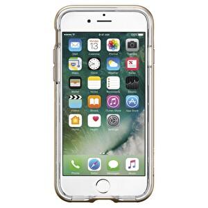 Spigen iPhone 7 Crystal Hybrid Champagne Gold Cep Telefonu Kılıfı