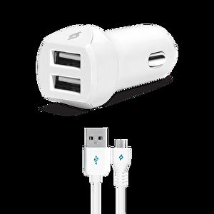 Ttec Speedcharger Duo Çift Usb 3.1A Micro Usb Kablolu Araç Şarj Cihazı