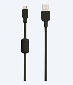 SONY CP-AB150B  1.5m SİYAH MICRO USB DATA VE ŞARJ KABLOSU ( OUTLET )