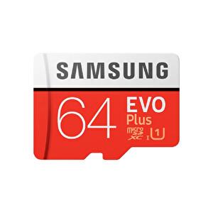 Samsung MBMC64GA 64Gb Evo Plus Micro Sd Hc Class10 Hafıza Kartı