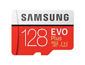 Samsung 128 GB Evo Plus Micro SD Hafıza Kartı (MB-MC128GA)