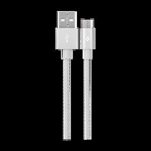 Ttec Alumicable Gümüş Micro Usb Şarj Kablosu