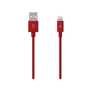 Ttec Alumicable Mfı iPhone Sarj Kablosu Kırmızı