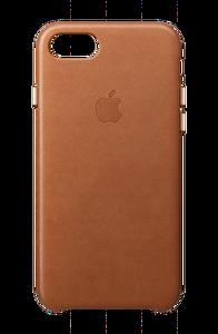 Apple MQH72ZM/A iPhone 8 Deri Kılıf - Klasik Kahve