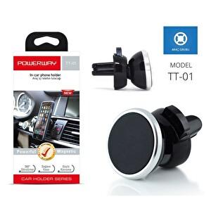Powerway Tt-01 Gümüş Manyetik Araç Telefon & Tablet Tutucu