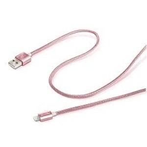 Celly UsblıghtteXRg Metal Lıghtnıng Kablo Siyah