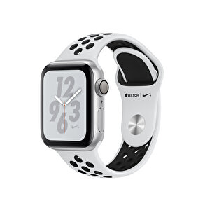 APPLE WATCH NIKE+ SERIES 4 GPS, 40MM SILVER ALUMINIUM CASE WITH PURE PLATINUM/BLACK NIKE SPORT BAND(MU6H2TU/A) ( TESHIR )