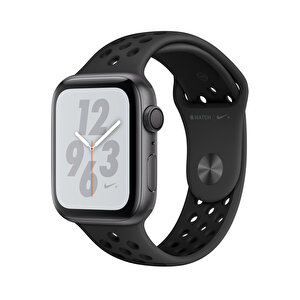 APPLEWATCH NIKE+ SERIES4 GPS, 44MM SPACE GREY ALUMINIUM CASE WITH ANTHRACITE/BLACK NIKE SPORT BAND(MU6L2TU/A) ( OUTLET )