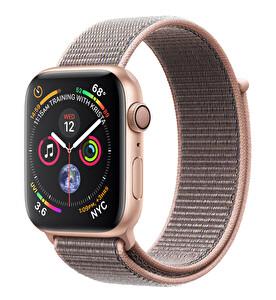 Apple Watch S4 44mm Gold Alüminyum Kasa ve Pembe Spor Kordon (MU6G2TU/A)