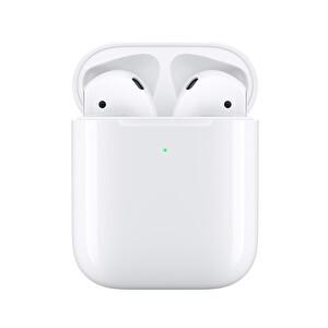 Apple Mrxj2Tu/A Airpods 2. Nesil Ve Kablosuz Şarj Kutusu Gerçek Kablosuz Kulak İçi Kulaklık  TESHIR