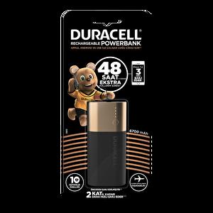 Duracell 6700 mAh Taşınabilir Şarj Cihazı