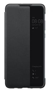 Huawei P30 Lite Pencere Kılıf Siyah
