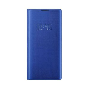 Samsung Galaxy Note 10+ LED View Kılıf - Mavi