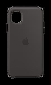 APPLE MWVU2ZM/A iPhone 11 Silikon Kılıf - Siyah ( OUTLET )