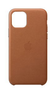 Apple MWYD2ZM/A iPhone 11 Pro Deri Kılıf - Klasik kahve