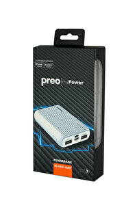 Preo My Power Pocket Size PS1 10.000 mAh Beyaz Powerbank